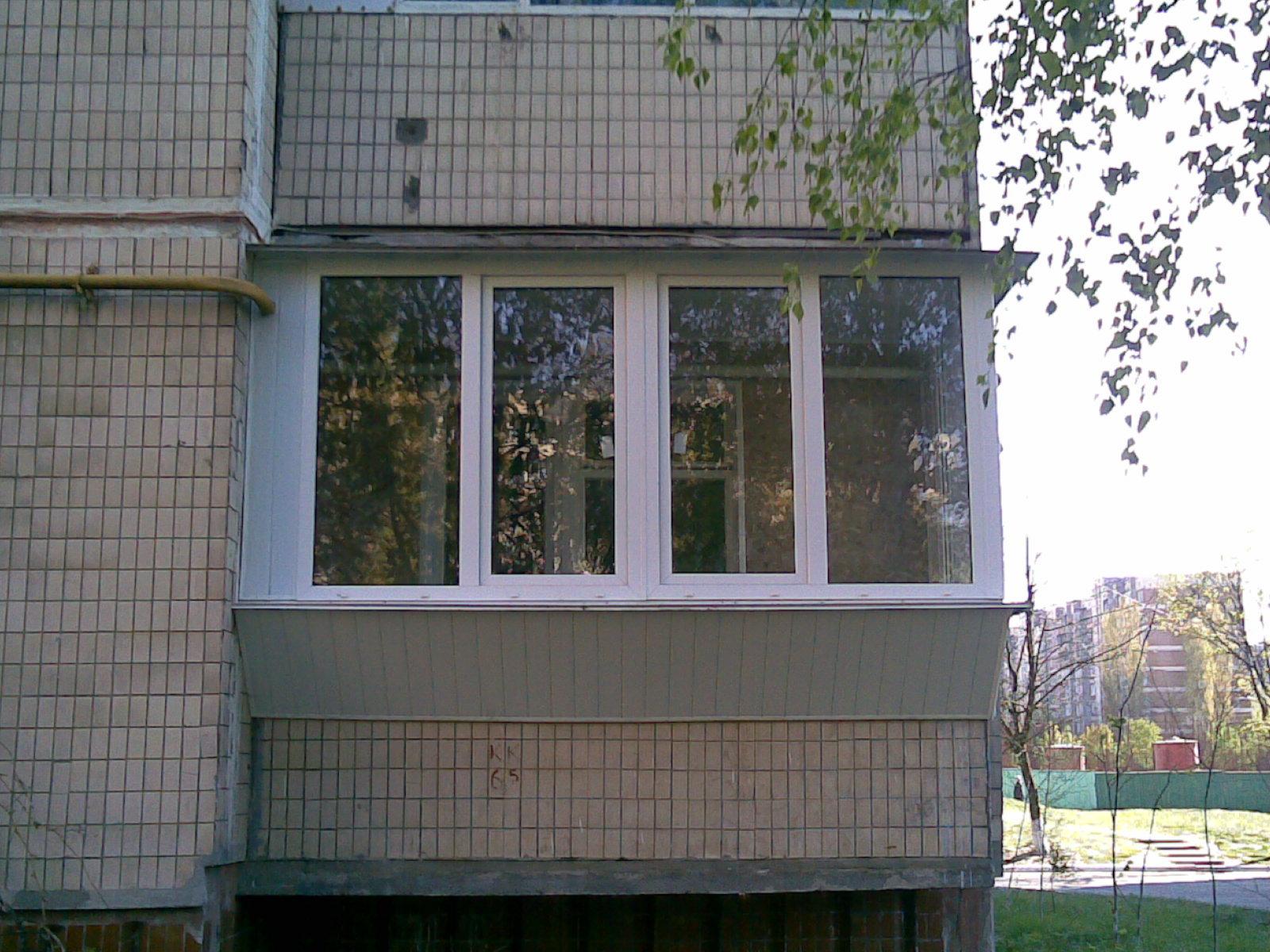 Застеклить балкон от пола до потолка цена от 15286руб. засте.