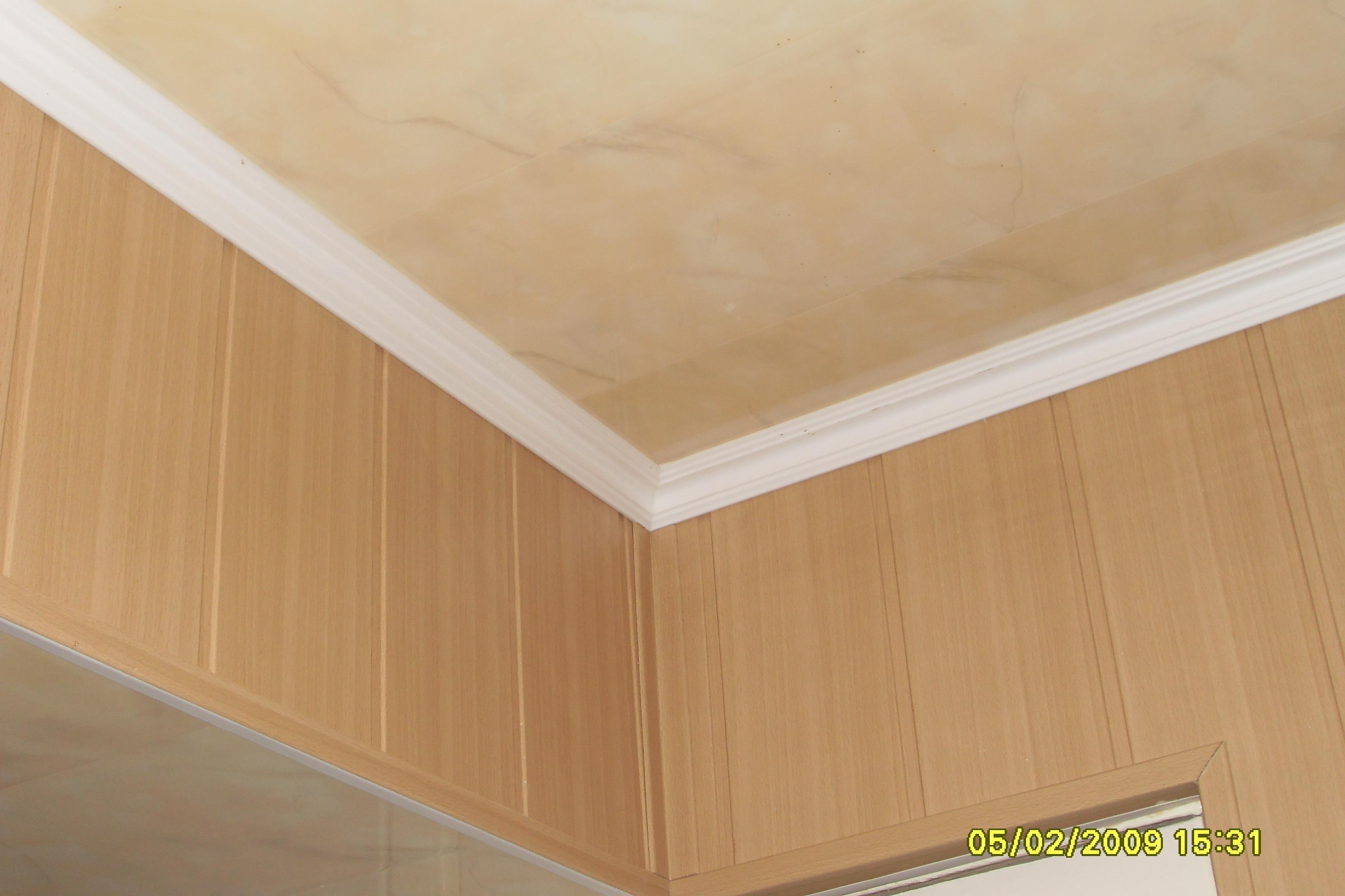 Как сделать своими руками монтаж потолка из МДФ-панелей 93