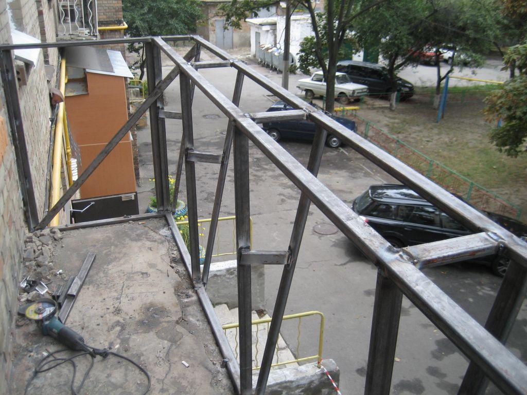 Каркас для рам балкона. - завод оконных систем - каталог ста.