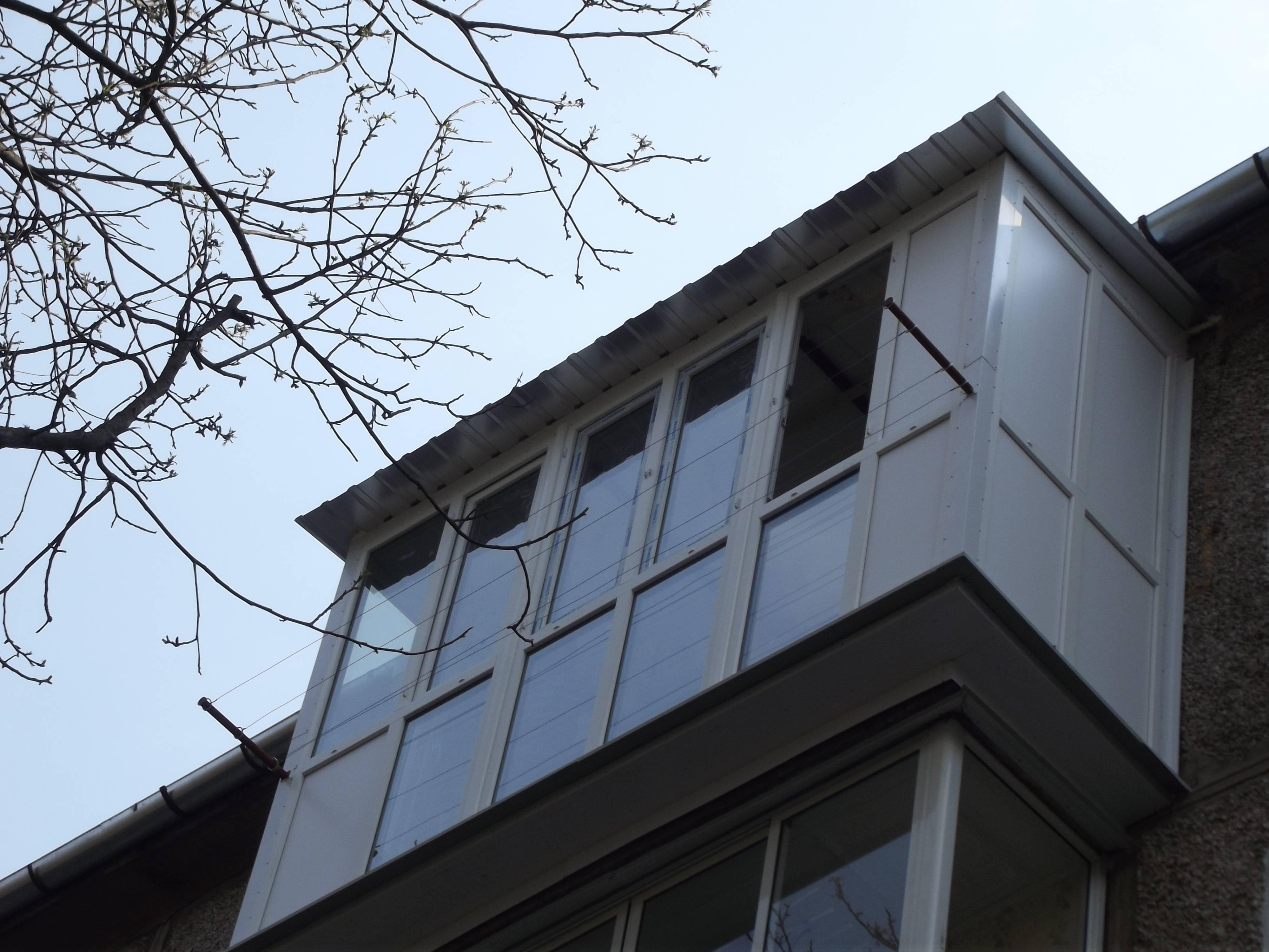 Фотографии красивых балконов prookno.com.ua.