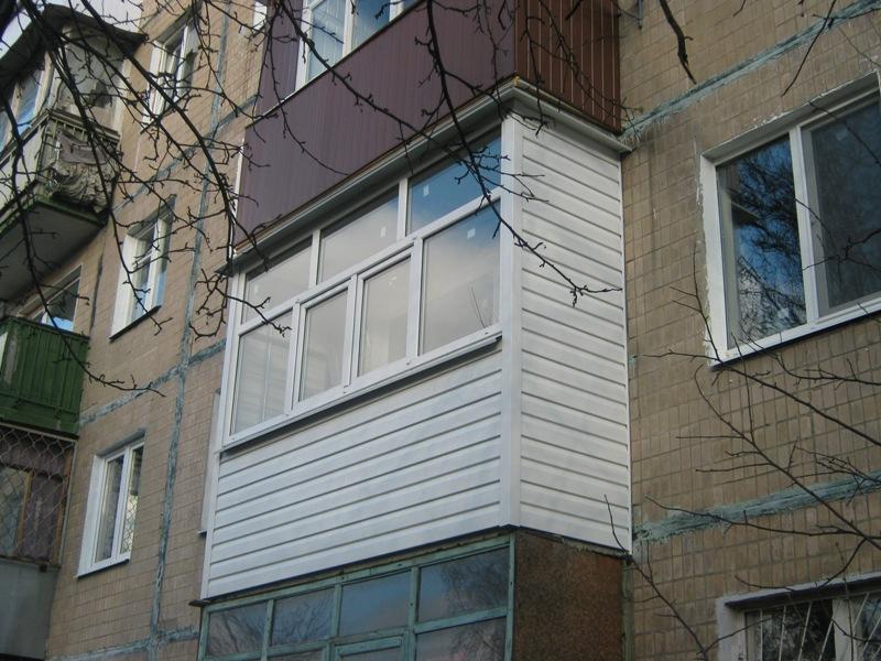 Материалы для обшивки балконы снаружи с фото.